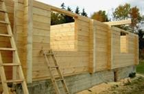 строительство домов из бревен Артём